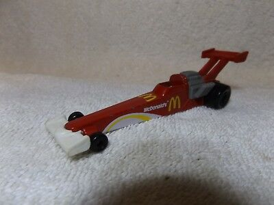 "VINTAGE DIECAST--80's McDONALDS DRAGSTER--HOT WHEELS--5"" LONG--VERY NICE"