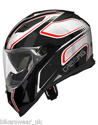 Caberg Stunt Blade White / Black / Red Full Face Motorcycle Helmet Few Left