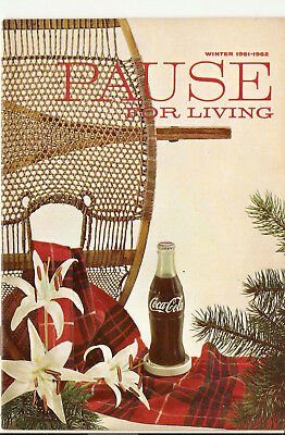 Pause For Living, Winter 1961-1962, Vol. 8  No. 2, Coca-Cola Booklet, Home (328)