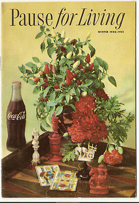 Pause For Living, Winter 1960-1961, Vol. 7  No. 2, Coca-Cola Booklet, Home (325)
