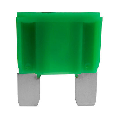 Automotive Maxi Blade Fuse 30 Amp Green Qty 100