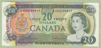 1969 Bank of Canada 20 Dollar Replacement Note - *EB2199917 - EF