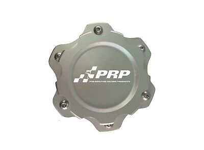 PRP 7610 Fuel Cell Cap w/ Aluminum Bolt on Bung, Clear Finish