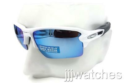 9ddfc18724 Oakley Flak 2.0XL Polished White PRIZM Deep H2O Polarized Sunglasses OO9188  8259