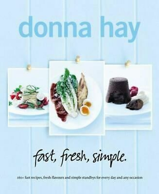 NEW Fast, Fresh, Simple By Donna Hay Paperback Free Shipping