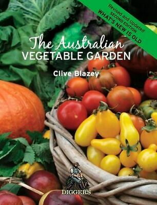 NEW The Australian Vegetable Garden By Blazey Clive Paperback Free Shipping