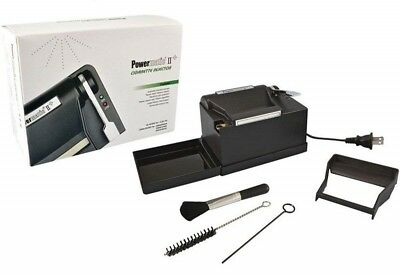 NEW Powermatic 2 II + Electric Cigarette Injector Machine makes Kings and 100s