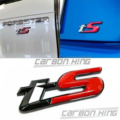 WRX STI S207 Emblem Badge Sticker Trunk Decal