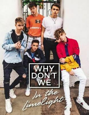 NEW Why Don't We By Why Don't We Hardcover Free Shipping