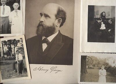 ALL NAMED PEOPLE Old Vintage Picture Photo Album Family Genealogy History Letter