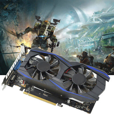 Gaming GTX 750TI 2GB DDR5 Graphics Card For NVIDIA GeForce 128BIT Video Card US