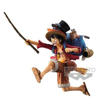 "One Piece Mania Product Monkey D. Luffy 7"" PVC figure Banpresto (100% authentic)"