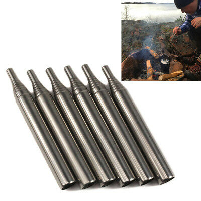 Outdoor  Bellow Collapsible Fire Tool Camping Survival Blow Fire Tube