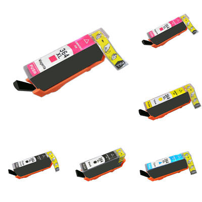 15/24ml Replace Printer Ink Cartridge for HP364/364XL Deskjet 3530 Photosmart Ki