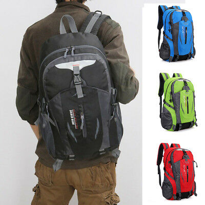 Large Waterproof Hiking Camping Bag Travel Backpack Outdoor Luggage Rucksack 40L