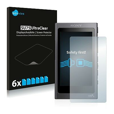 6x Savvies Screen Protector for Sony NW-A45 Ultra Clear