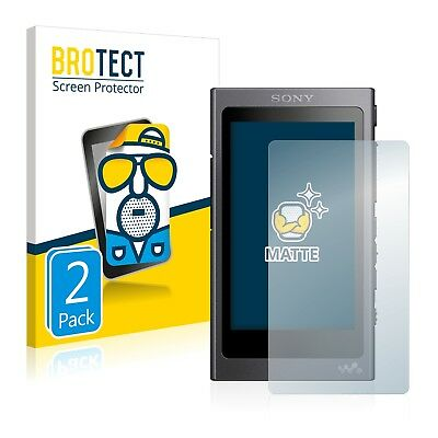 2x BROTECT Matte Screen Protector for Sony NW-A45 Protection Film