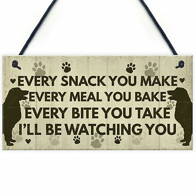 Funny Dog Puppy Signs And Plaques Gift For Dog Lovers Novelty Dog Sign For Home