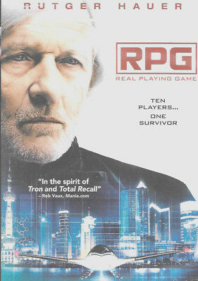 Rpg Dvd Rutger Hauer Brand Factory Sealed New Free Shipping Tracking Us