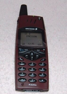 Vintage Ericsson R320s  Dummy / Toy Phone Red Rock Boxed New