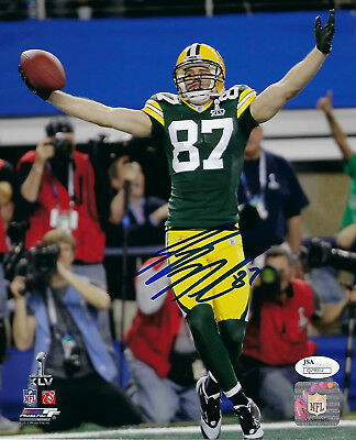 c3499cf67b7 PACKERS Jordy Nelson signed 8x10 SB XLV photo JSA COA AUTO Autograph Green  Bay