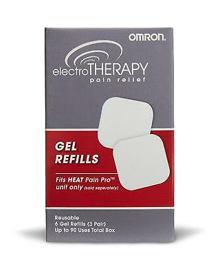 OMRON ElectroTherapy Pain Relief Gel Pad Refills Heat Pain Pro PM311 Only A355