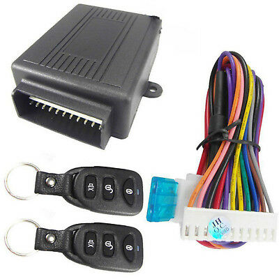 Universal Car Remote Control Central Door Lock Locking Keyless Entry System Kit