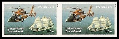 US 5008a Coast Guard imperf NDC horz pair MNH 2015