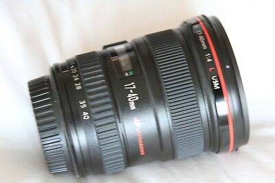 CANON EF 17-40mm  f/4 L USM LENS. Boxed.EXC++