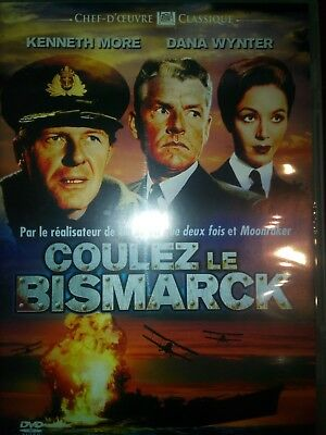 DVD COULEZ LE BISMARCK avec Kenneth MORE, Dana WYNTER