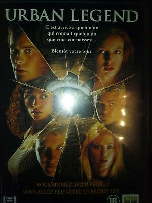 DVD URBAN LEGEND de JAMIE BLANKS avec JARED LETO, ALICIA WITT, REBECCA GAYHEART.
