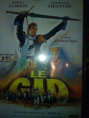 DVD LE CID de ANTHONY MAN avec SOPHIA LOREN, CHARLTON HESTON.