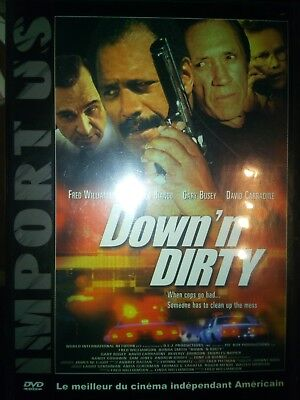 DVD DOWN'N DIRTY  Réalis.:  FRED WILLIAMSON - avec  - DAVID CARRADINE