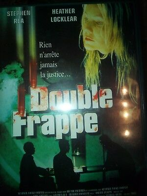 DVD DOUBLE FRAPPE avec Stephen RIA, Heather LOCKLEAR