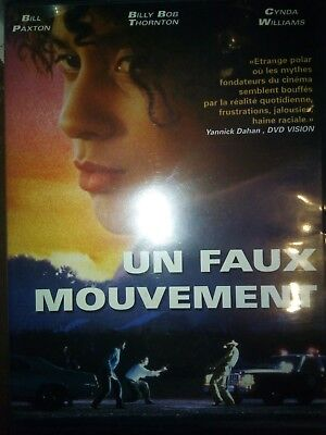 DVD UN FAUX MOUVEMENT de CARL FRANKLIN avec BILLY PAXTON, CYNDA WILLIAMS, etc...