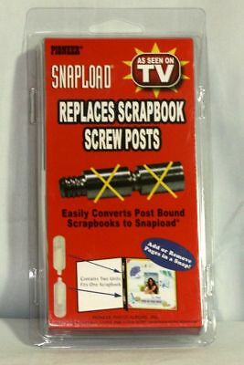 Pack of Pioneer Snapload Conversion Kits - Replaces Scrapbook Screw Posts