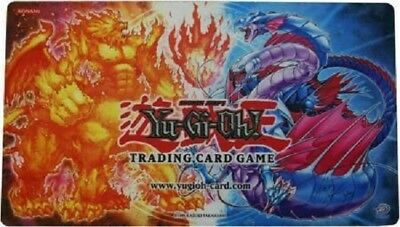 Yu-Gi-Oh ! Playmat Tapis De Jeu Fire Vs Water