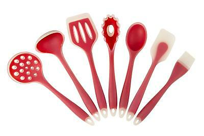 Silicone Utensils Set of 7 Pcs Kitchen Tools Nonstick Cookware Bakeware Gadgets
