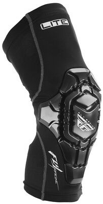 Fly Racing Barricade Lite Mens MX Offroad Knee Guards Black