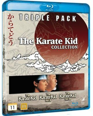 The Karate Kid Collection 1-3 Three Movie Set Blu-Ray Import BRAND NEW 1 2 3