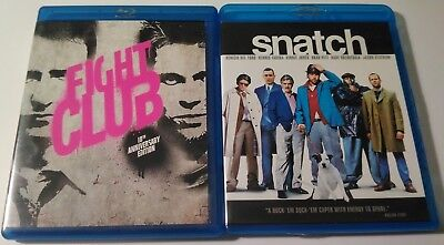 Fight Club and Snatch BLU RAY MOVIES