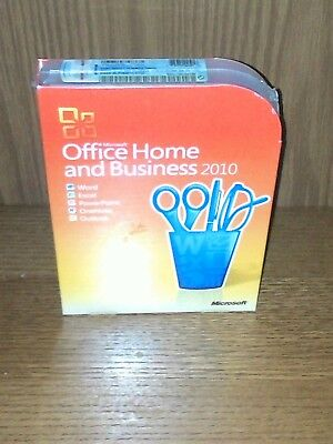 Microsoft Office 2010 Home and Business - Word Excel Outlook [factory sealed]