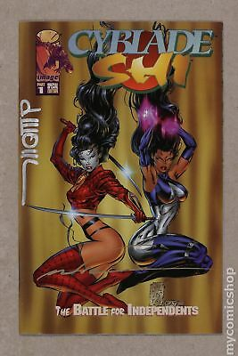Cyblade Shi The Battle for Independents #1 Silvestri Boxed Set Edition A VF 8.0