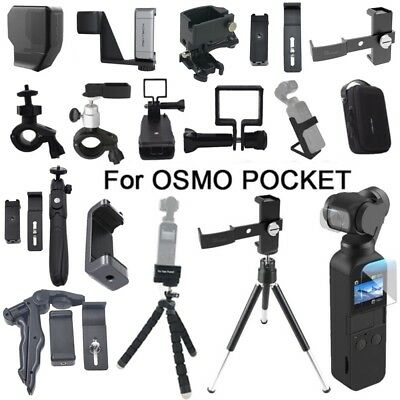Phone Holder Set Carrying Case Sceen Film For DJI OSMO POCKET Accessory Lot 2019