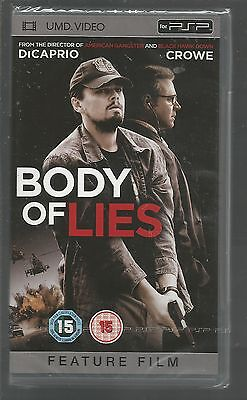 BODY OF LIES - sealed/new - UK PSP UMD VIDEO - DiCaprio / Crowe