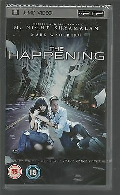 THE HAPPENING - sealed/new - UK PSP UMD VIDEO - Mark Wahlberg