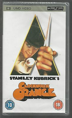 A CLOCKWORK ORANGE - sealed/new - UK PSP UMD VIDEO