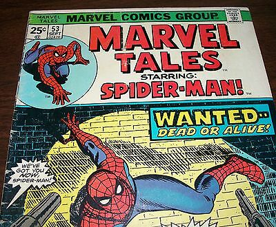 The Amazing Spider-Man #70 Reprint in Marvel Tales #53 from Sept.1974 in G/VG