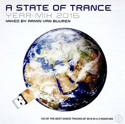 A State Of Trance: Year Mix 2016, Armin van Buuren CD , New, FREE & Fast Deliver