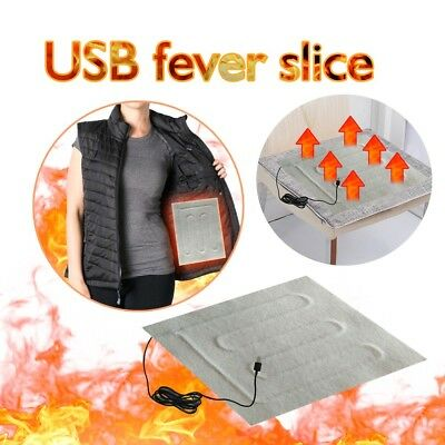 Electric Heating Pads Thermal Clothes Heated Jacket Outdoor Mobile Warming Gear